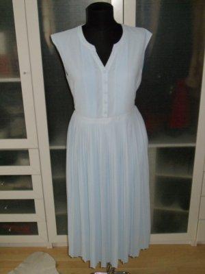 tolles MINT & BERRY Kleid plissiert hellblau Gr.38