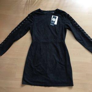 Tolles modernes Kleid in Veloursleder