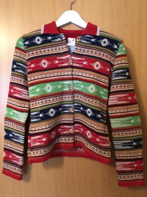 Oilily Giacca in maglia multicolore