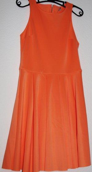 tolles neonoranges Kleid, Gr, M