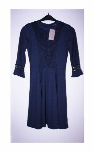 tolles neues Orsay Kleid in Größe 36 Dunkelblau wunderschön