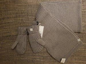Adidas Originals Écharpe en tricot gris clair
