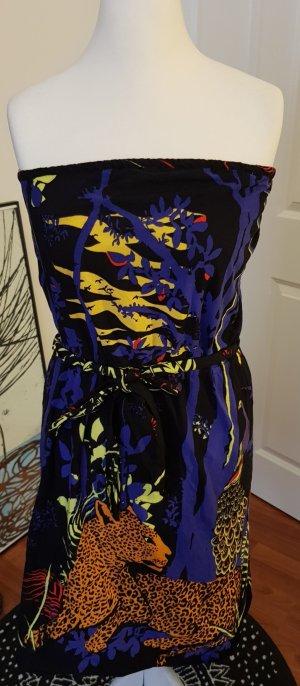 H&M Vestido playero negro-azul