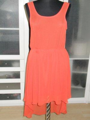 tolles NEW LOOK Sommerkleid rot-orange Gr.38