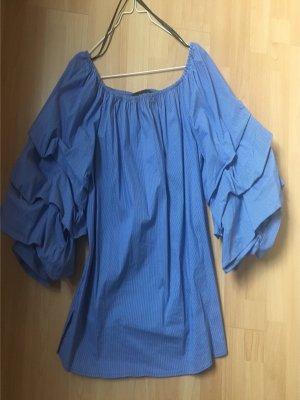 Tolles Oberteil Bluse Vollant von Zara, Gr.S, neuwertig