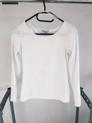 H&M Long Shirt white