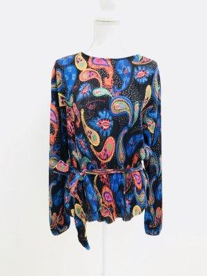 Zara Camicetta a maniche lunghe multicolore