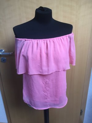 Only Carmen Blouse pink