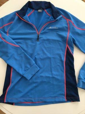 Tolles Outdoor Shirt zum Laufen von ODLO Grösse L blau