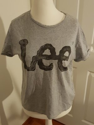 tolles oversize shirt von lee gr.xs/s grau