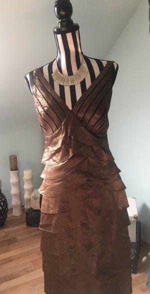 Heine Cocktail Dress bronze-colored