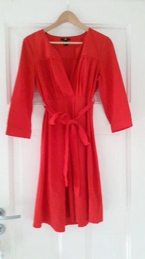 Tolles Partykleid in Rot von H&M Größe 38