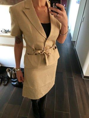 Tolles Polo Ralph Lauren Kostüm Blazer Leine Beige Neu. Mit Etikett 38