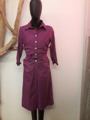 René Lezard Abito blusa camicia lilla-lilla