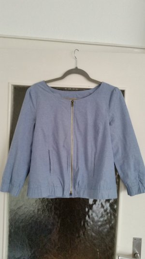 Review Veste bleu azur