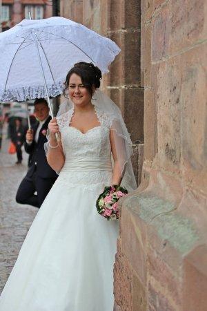 Tolles romantisches Brautkleid Von Miss Kelly Kollektion 2014 !!!!!!