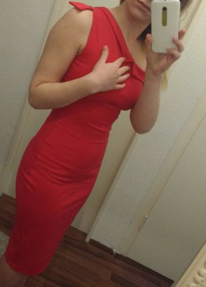 Tolles rotes Cocktailkleid