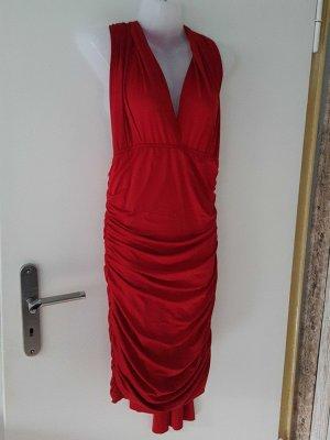 tolles rotes Kleid Neu