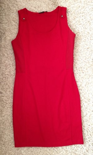 tolles rotes Kleid von fransa gr M