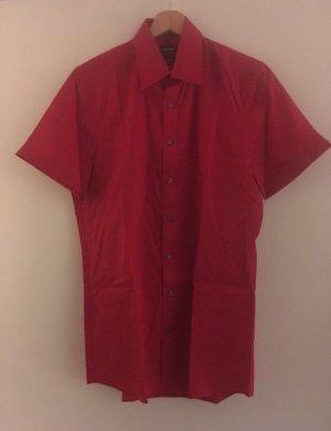 Olymp Camicia a maniche corte rosso