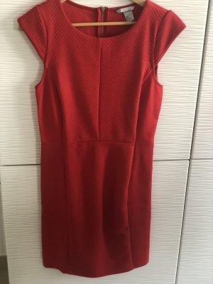 Tolles rotes Stretch-Kleid Gr. 36