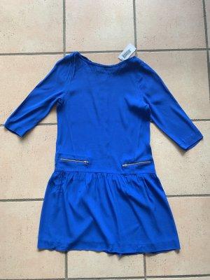 Sandro Vestido tipo túnica azul-azul acero