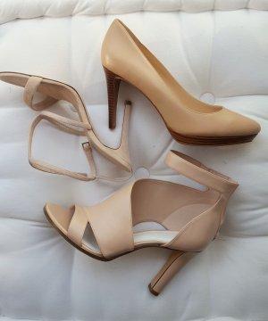 Tolles Schuhpaket in creme NEU u.a Massimo Dutti