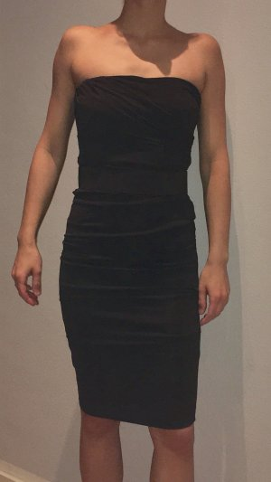 tolles schulterfreies Kleid in Größe XS