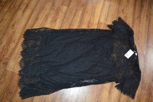 Tolles schwarzes aufregendes Neues Spitzenkleid H&M Gr. 46