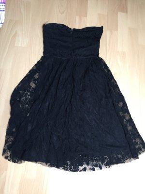 Tolles schwarzes Kleid mit spitze