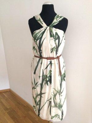 Massimo Dutti Chiffon Dress multicolored