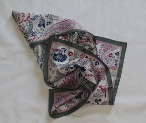 Darling Harbour Foulard en soie multicolore soie