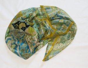 Tolles Seidentuch von Roeckl in Grün/Blau