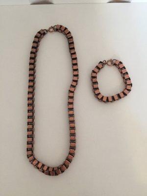 COS Ketting brons-roségoud Metaal