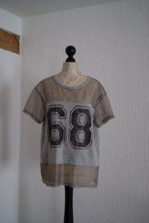 Tolles Shirt in Netzoptik von SISLEY, Größe 42