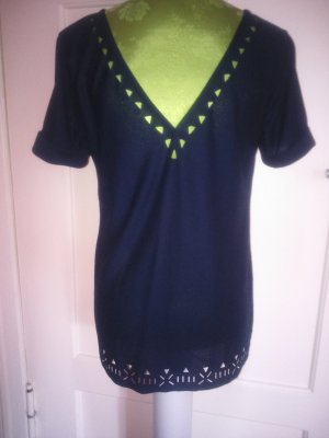 tolles Shirt mit Cut outs navy