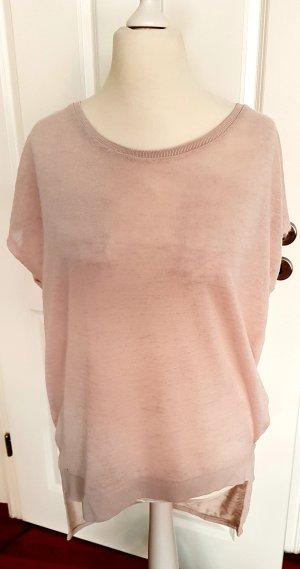 tolles shirt Pulli  vokuhila gr.xl rose