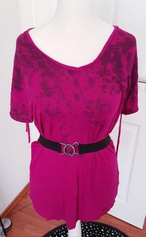 Bench Camicia rosso lampone-magenta