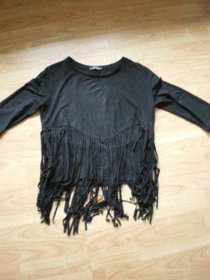 Tolles Shirt von Bershka in schwarz in der Gr. S *****