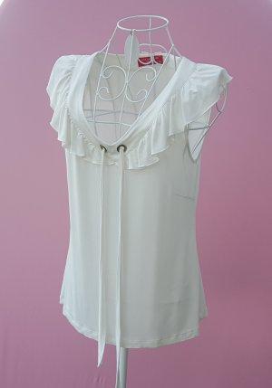 tolles Shirt von Lisa Campione Gr.38 Kunstseide -top-
