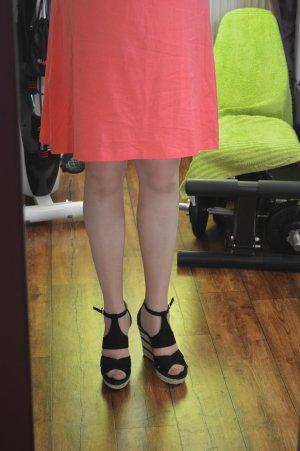 Tolles Sommer Esprit Kleidchen Gr. 42 Koralle/lachs  Ton