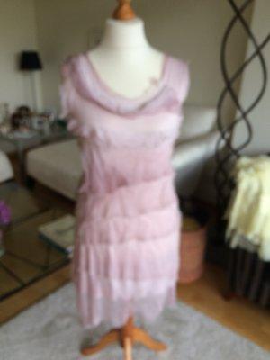 100 Vestido rosa empolvado-rosa