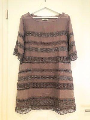 Alpha Midi Dress mauve-grey lilac