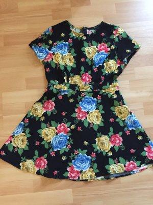 Tolles Sommerkleid mit Blumenprint Gr. L Forever21
