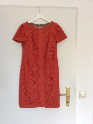 Anne Klein Mini Abito arancio neon-rosso mattone Tessuto misto