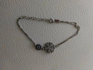 tolles süßes Armband aus silber Schneeflocke und Auge