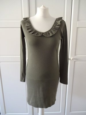 Gina Sweat Dress khaki cotton