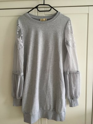 Robe Sweat gris clair