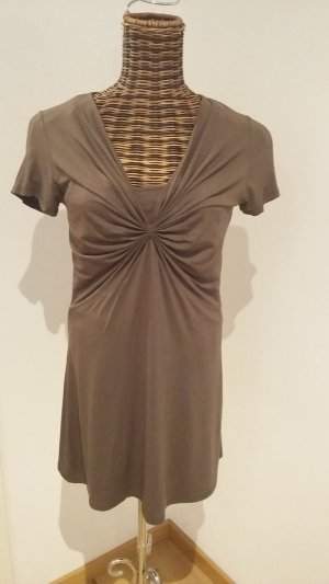 Comma Robe t-shirt taupe-marron clair