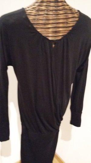 Opus Vestido tipo jersey negro
